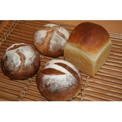 画像1: 無添加 自家製酵母パン Aセット